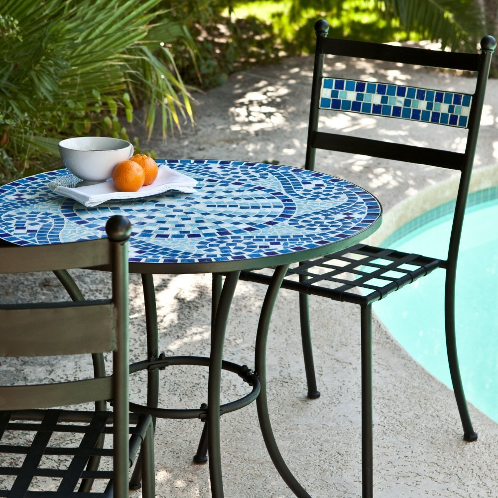 mosaic bistro patio sets