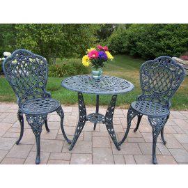 rose 3 piece bistro patio sets reviews - Bistro Patio Set